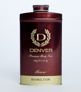Denver Hamilton Premium  Body Talc Powder Honour 250gm