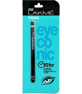 LAKME Kajal Black Eyeconic 22hr