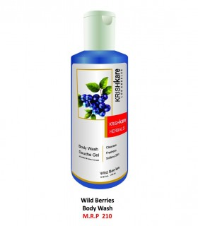 Krishkare Body Wash Douche Gel Wild Berries