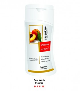 Krishkare Face Wash Peaches
