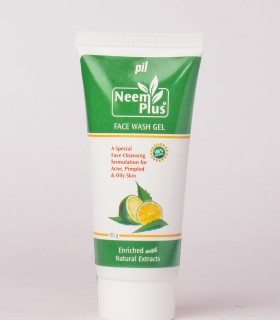 Pil Neem Plus Face Wash Gel 50gm