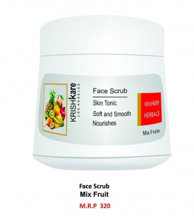 Krishkare Face Scrub Mix Fruit