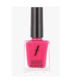 FACES Hi Shine Nail Enamel Flirty Fuschia 108