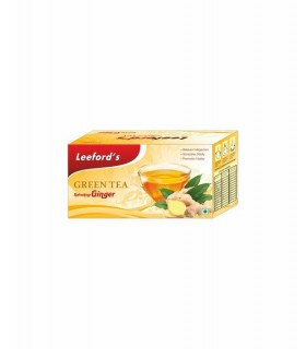 Leeford Green Tea Ginger 25pcs