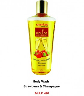 Krishkare Body Wash Strawberry & Champagne