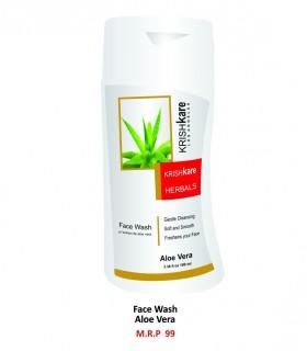 Krishkare Face Wash Aloe Vera