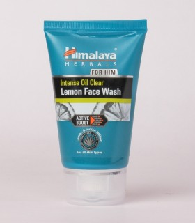 Himalaya Men Intense Oil Clear Lemon Face Wash 50ml