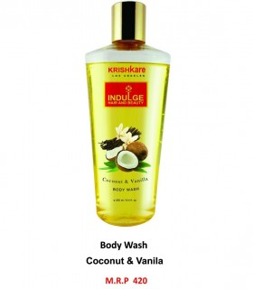 Krishkare Body Wash Coconut & Vanilla