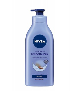 NIVEA Body Lotion Smooth Milk Dry Skin Shea Butter 200ml