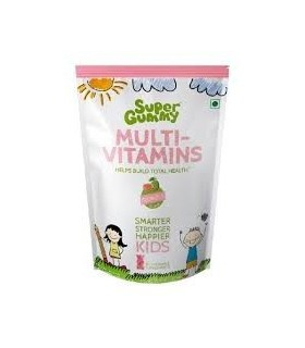 Super Gummy Multi-Vitamins Helps Build Total Health