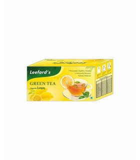 Leeford Green Tea Lemon 25pc
