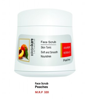 Krishkare Face Scrub Peaches