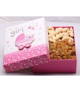 Baby Shower Dryfruit Box-Girl