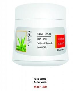 Krishkare Face Scrub Aloe Vera