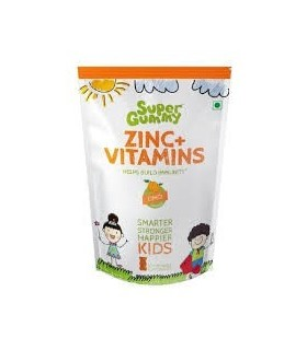 Super Gummy Zinc Vitamins Helps Build Immunity