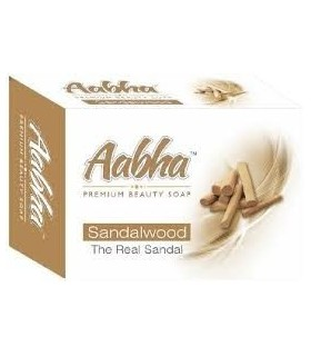 Aabha Premium Beauty Soap Sandalwood 75gm