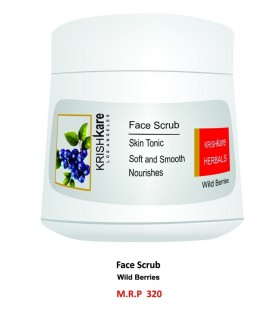 Krishkare Face Scrub Wild Berries