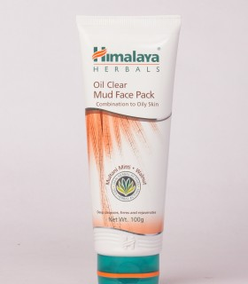 Himalaya Oil Clear Mud  Face Pack (100 Gm)