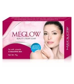meglow soap 75gm