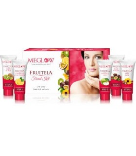 MEGLOW FRUIT FACE WASH 70GM