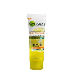 GARNIER LIGHT COMPLETE FAIRNESS FACE WASH 50GM