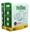FRIENDS DIAPER MEDIUM SIZE 10 PCS