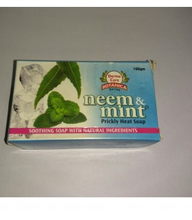 Neem & mint soap
