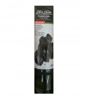 Skin shine charcoal face wash