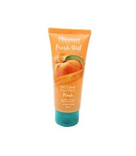HIMALAYA FRESH START PEACH  FACE WASH 50ML