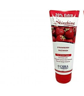 Skinshine strawberry face wash