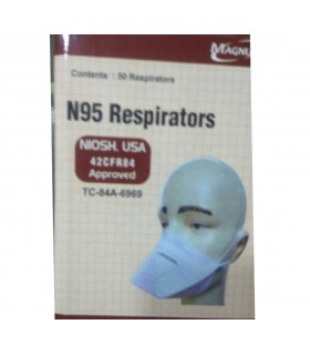 Magnum Flat Fold Respirator with NIOSH N95
