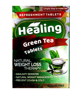 Healing green tea tablets