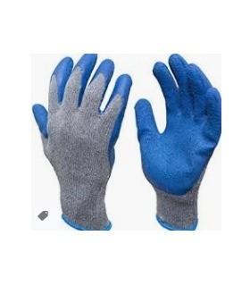 Cotton gloves blue