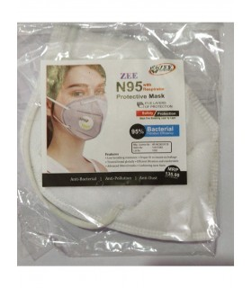 Zee N95 mask white