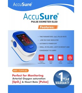 Accusure pluseoxymeter