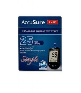 Accusure 25 strip